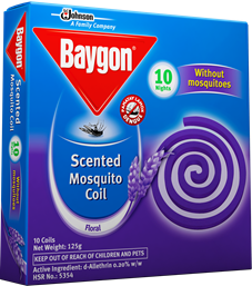 Baygon Mosquito Coil - Scented
