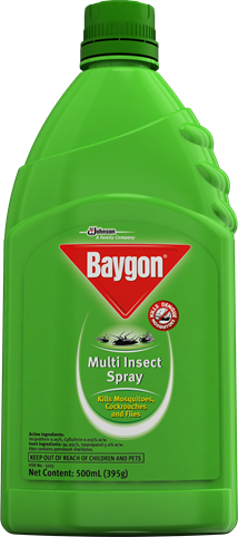 Baygon Multi Insect Spray Kerosene Based