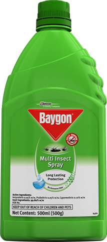 Baygon Multi-Insect Spray - Water Based